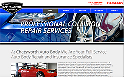 Chatsworth Auto Body Website Link
